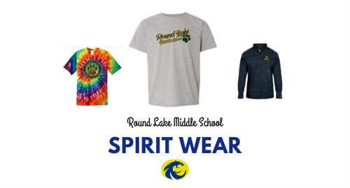 Graphic showing RLMS spirit wear options