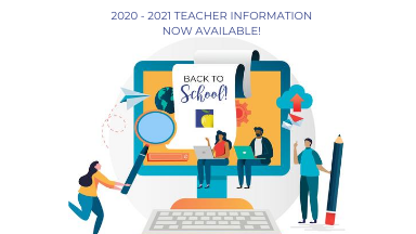 2020 - 2021 Teacher Information PK - 5