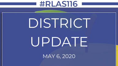 May 6, 2020: District Update - Last Day of E-Learning