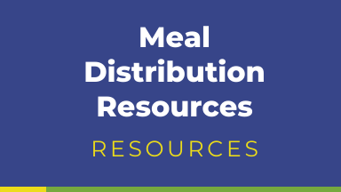 Meal Distribution Resources