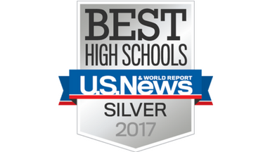 U.S. News & World Report Silver Badge