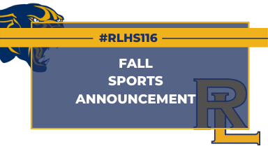 RLHS Fall Athletics graphic